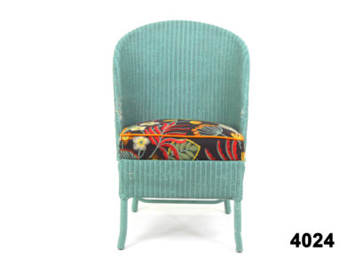 Blue Lloyd loom chair with an upholstered drop-in seat from Antiques of Kingston