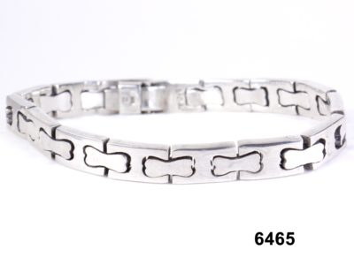 925 Taxco Mexican sterling silver link bracelet from antiques of kingston