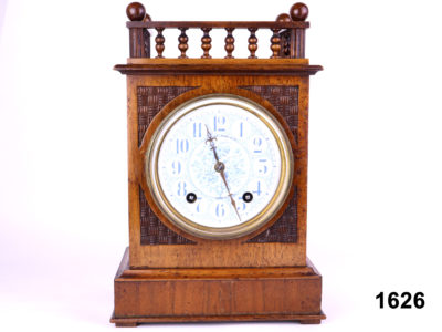 Late 19th century Arts & Crafts style 8 day striking clock by Winterhalder & Hofmeier Fully serviced and with 1 year guarantee from antiques of kingston