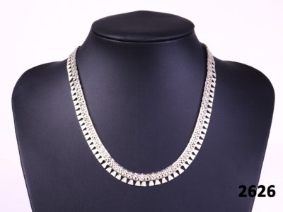 925 Sterling silver 'Cleopatra' style necklace at antiques of kingston