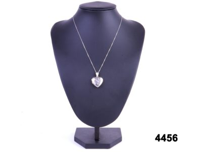 925 Sterling silver heart locket and chain